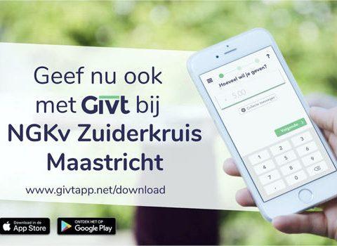 Digitaal geven met de Givt-app