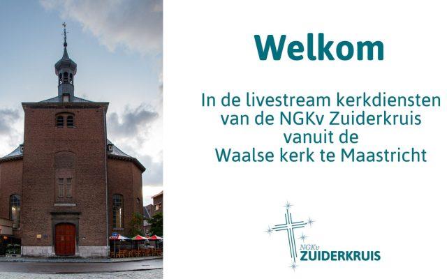 Live uitzendingen kerkdienst